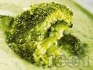 Рецепта Зеленчукова крем супа от броколи и тиквички